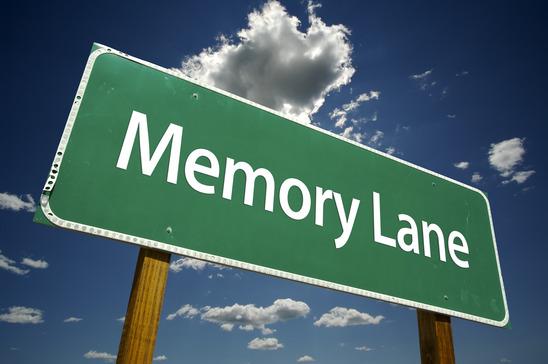 Memory Lane Road Sign